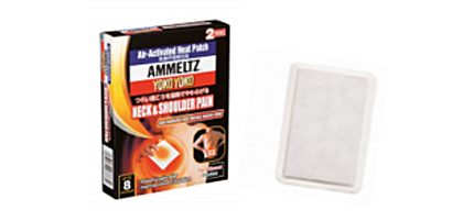 AMMELTZ YOKO YOKO HEAT PATCH FOR NECK & SHOULDER PAIN