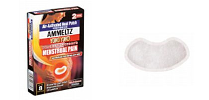 AMMELTZ YOKO YOKO HEAT PATCH FOR MENSTRUAL PAIN