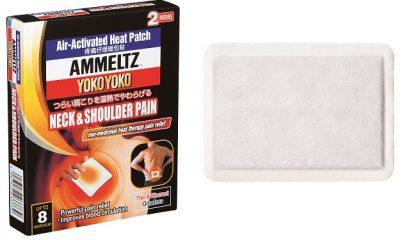 AMMELTZ YOKO YOKO HEAT PATCH FOR NECK & SHOULDER PAIN